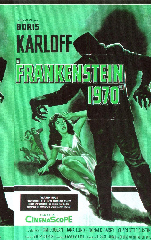 MiniReview Frankenstein 1970 Frankenstein, Vintage