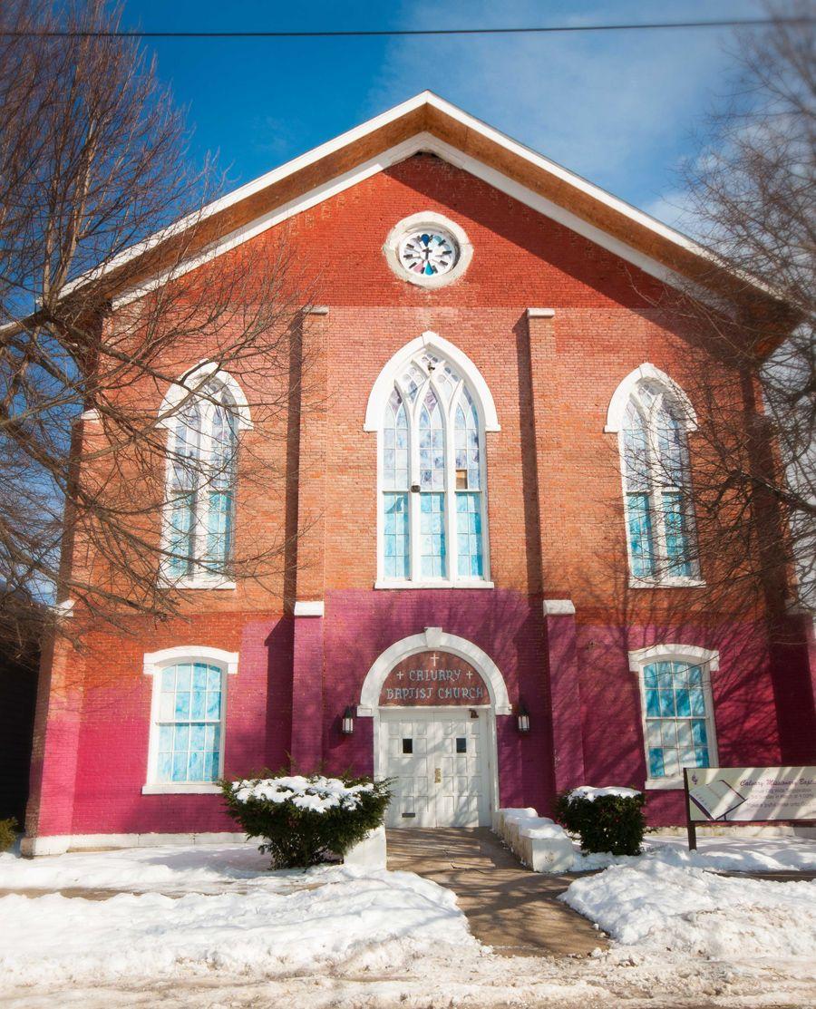 Calvary Baptist Church Near Dorosti Dental In Zanesville Ohio We