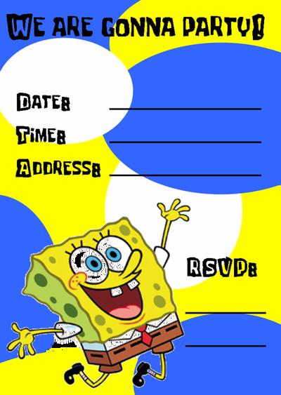 Free Spongebob Squarepants Party Ideas | Spongebob ...