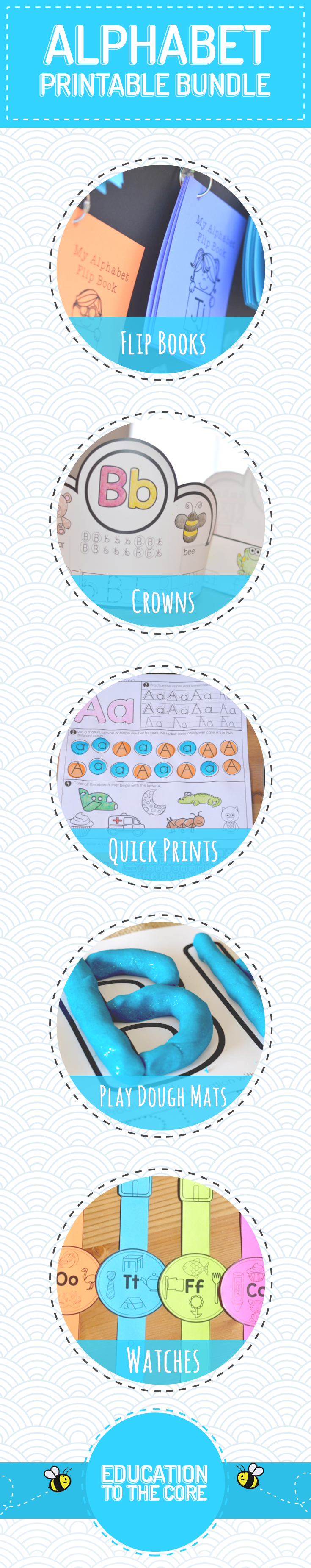 Alphabet Activities | Alphabet Printables Bundle | Letter Sounds ...