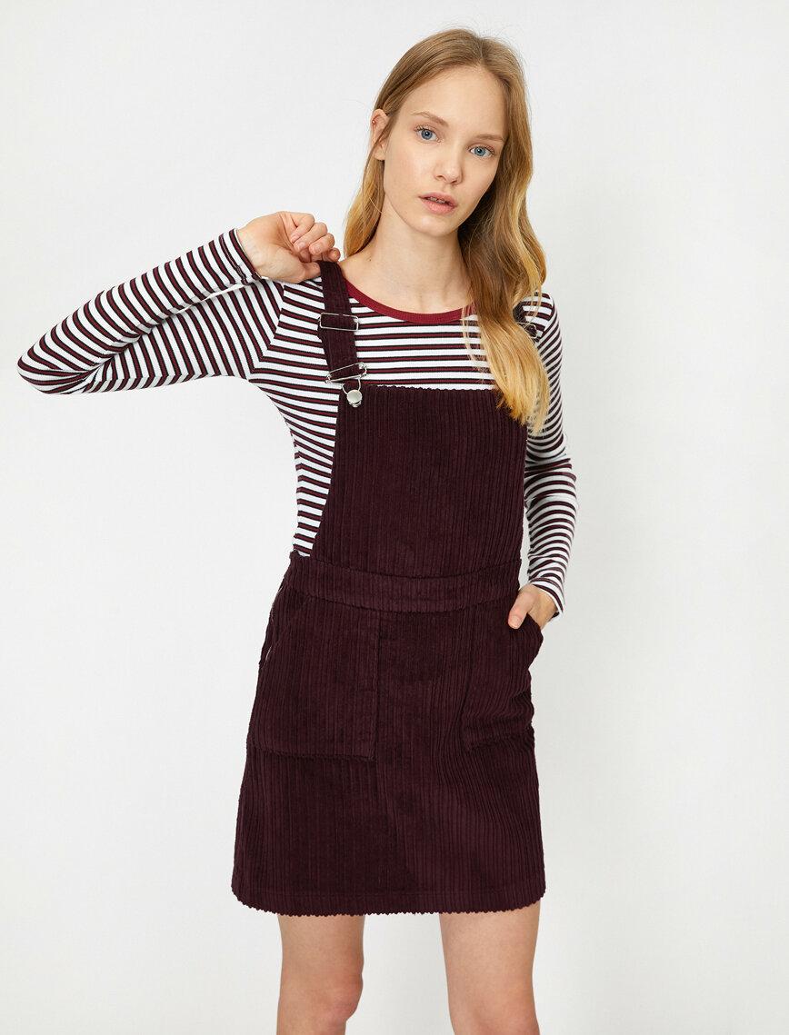 Kolsuz Elbise 2020 Elbise Mini Elbise Moda Stilleri