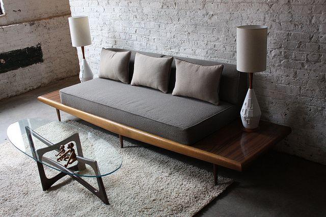 Magnificent And Mint Mcm Adrian Pearsall Platfom Sofa Craft Associates 1960 S Simple Sofa Diy Sofa Furniture