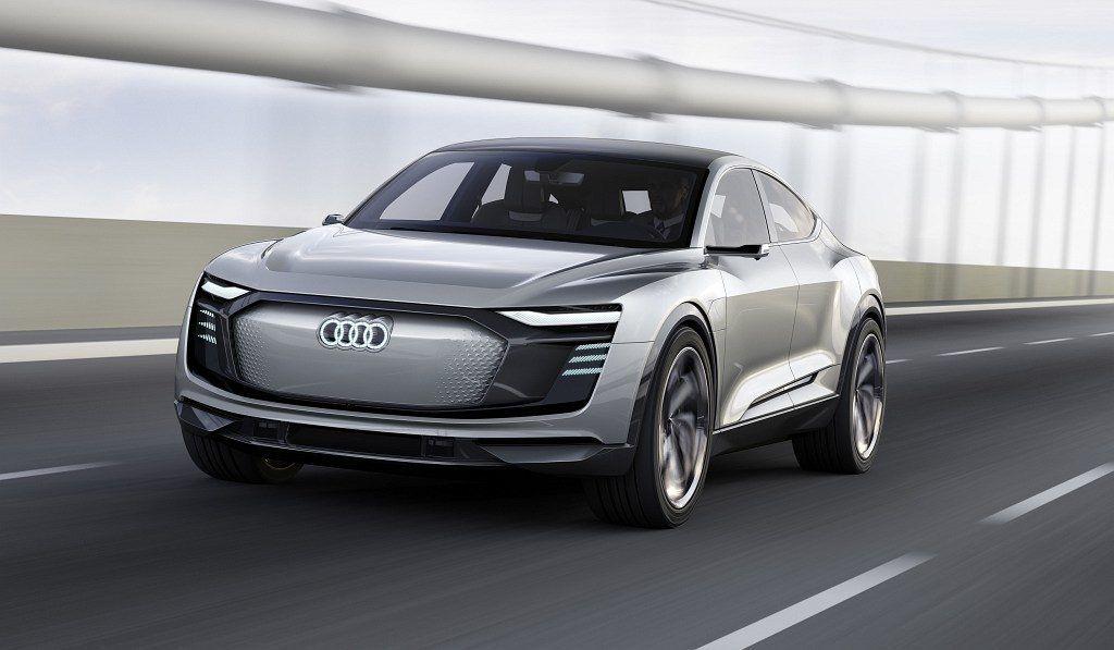 Lichtdesign Audi E Tron Sportback Concept Tron Audi Neuwagen