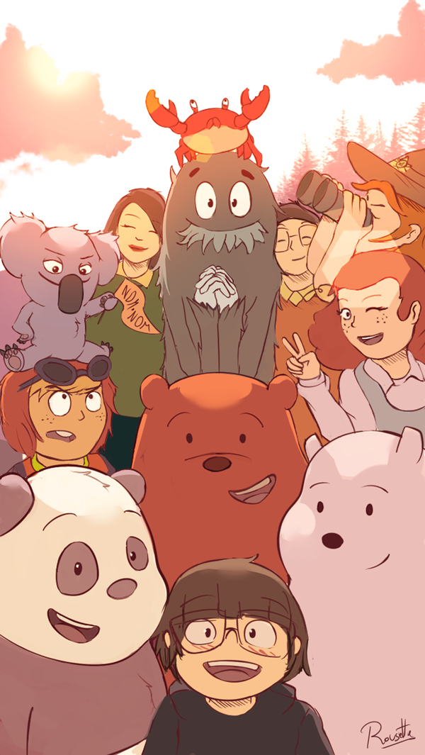 We Bare Bears - Anniversary by Brian-Rousette on DeviantArt