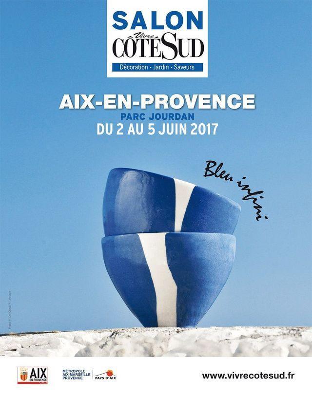 Salon Vivre côté Sud - Aix en Provence | White and blue in 2019
