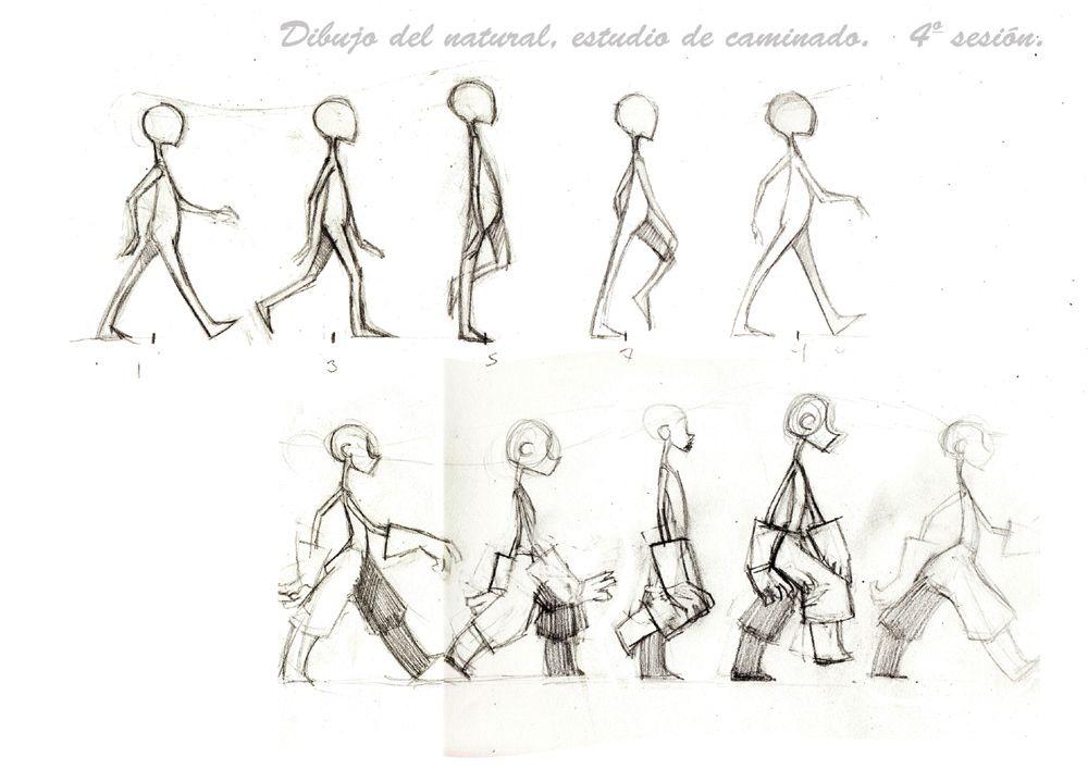 ciclo de caminado - Buscar con Google | ilustrations | Pinterest ...