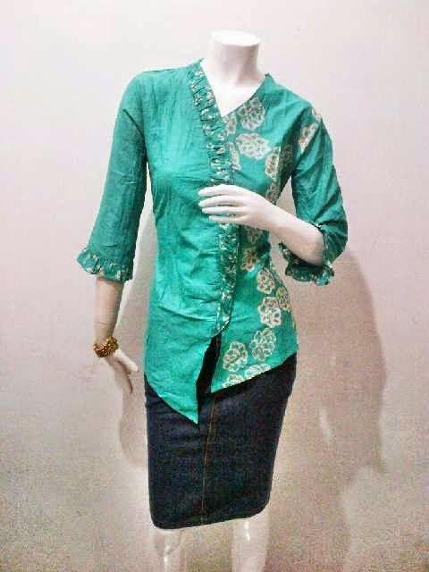 Model Blouse Batik Kerja Kartini Series Call Order  085959844