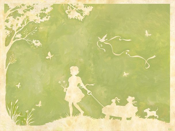 Toile Pulling Wagon Canvas Art | Products | Pinterest | Toile and ...