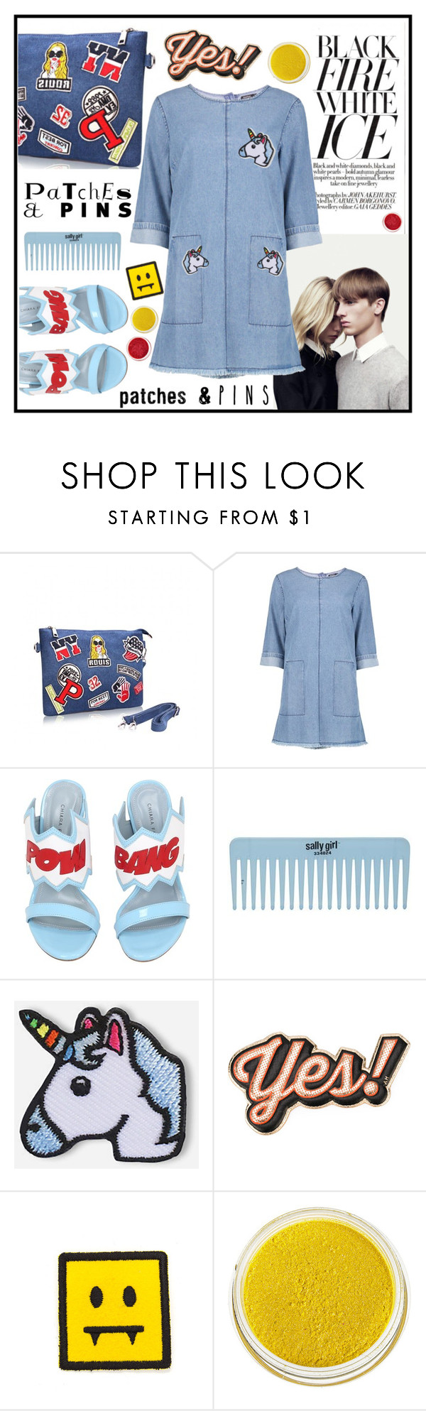 """""""Patch and Pins!"""" by misskarolina ❤ liked on Polyvore featuring Chiara Ferragni, Hipstapatch, Anya Hindmarch, Manic Panic, polyvoreeditorial and patchesandpins"""