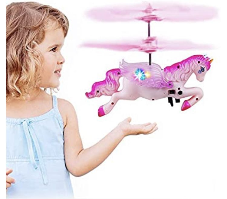 Innoo Tech Flying Unicorn Drone Toys Gifts For Girls Age 6 7 8 9 14 Years Old