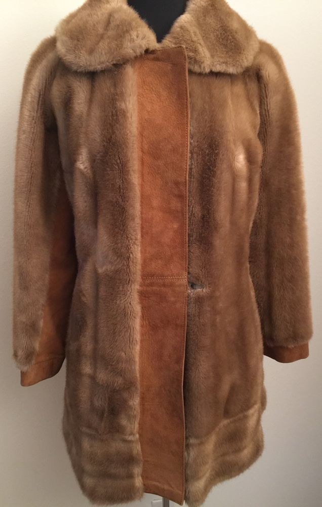1970's Suede Coat Womens Sz Large Leather Fashion Jacket Brown Suede Unisex 70s Coat Boho Hippy Hipster Leather Jacket Wide Collar cBnzVu