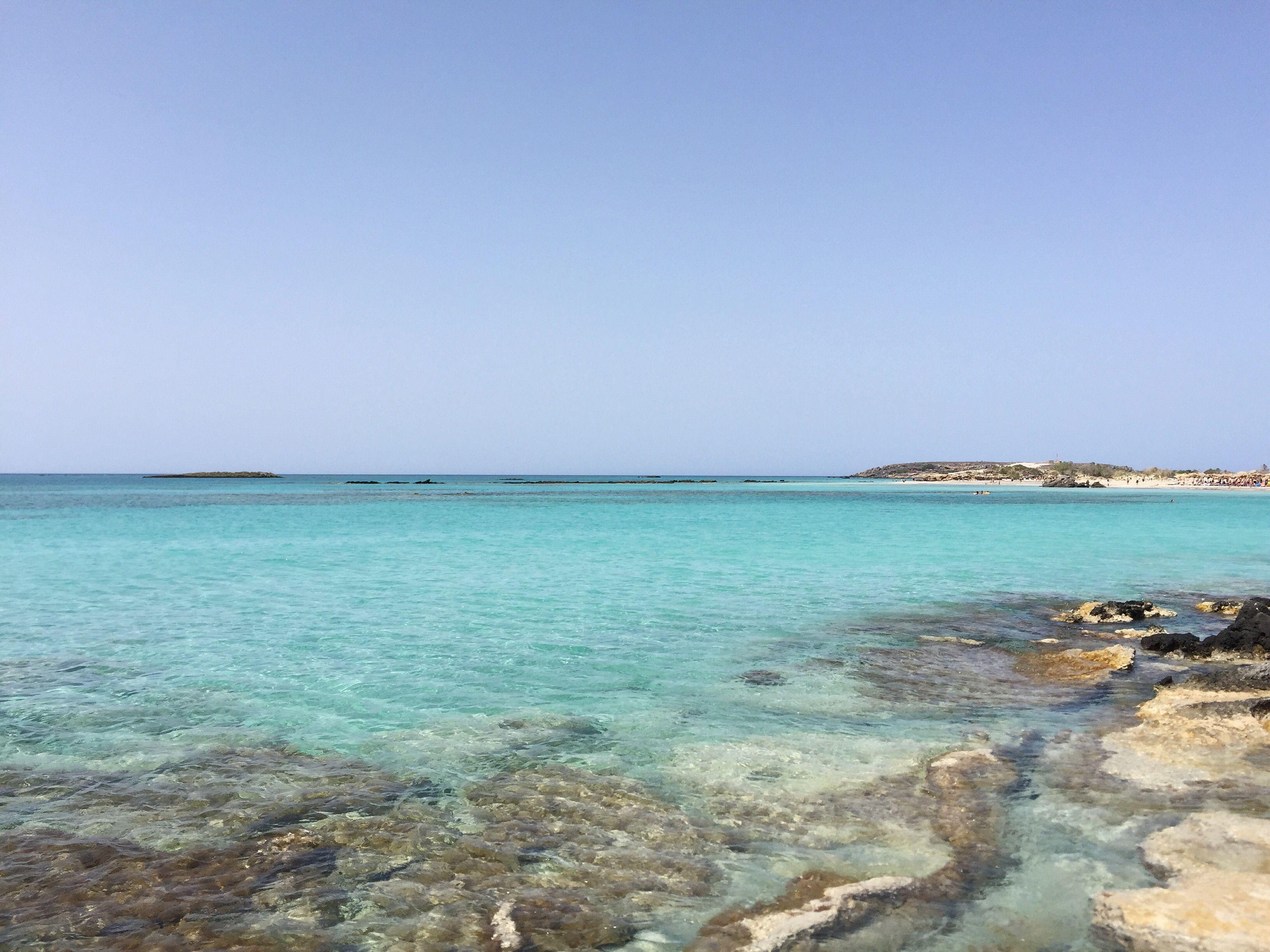 Elafonissi Beach, Crete, Greece ☀️🇬🇷