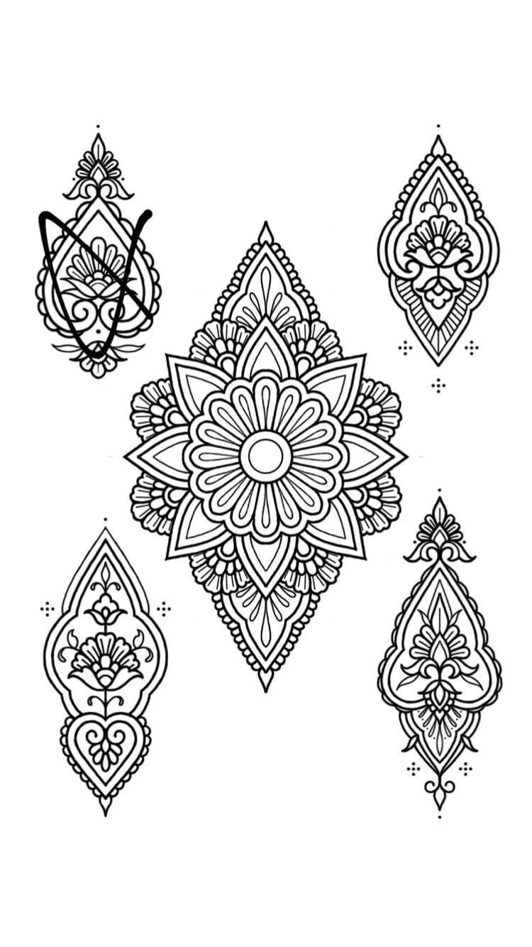 Pin By Curtis Cameron On Mandalas Mandala Tattoo Traditional Tattoo Prints Mandala Tattoo Design