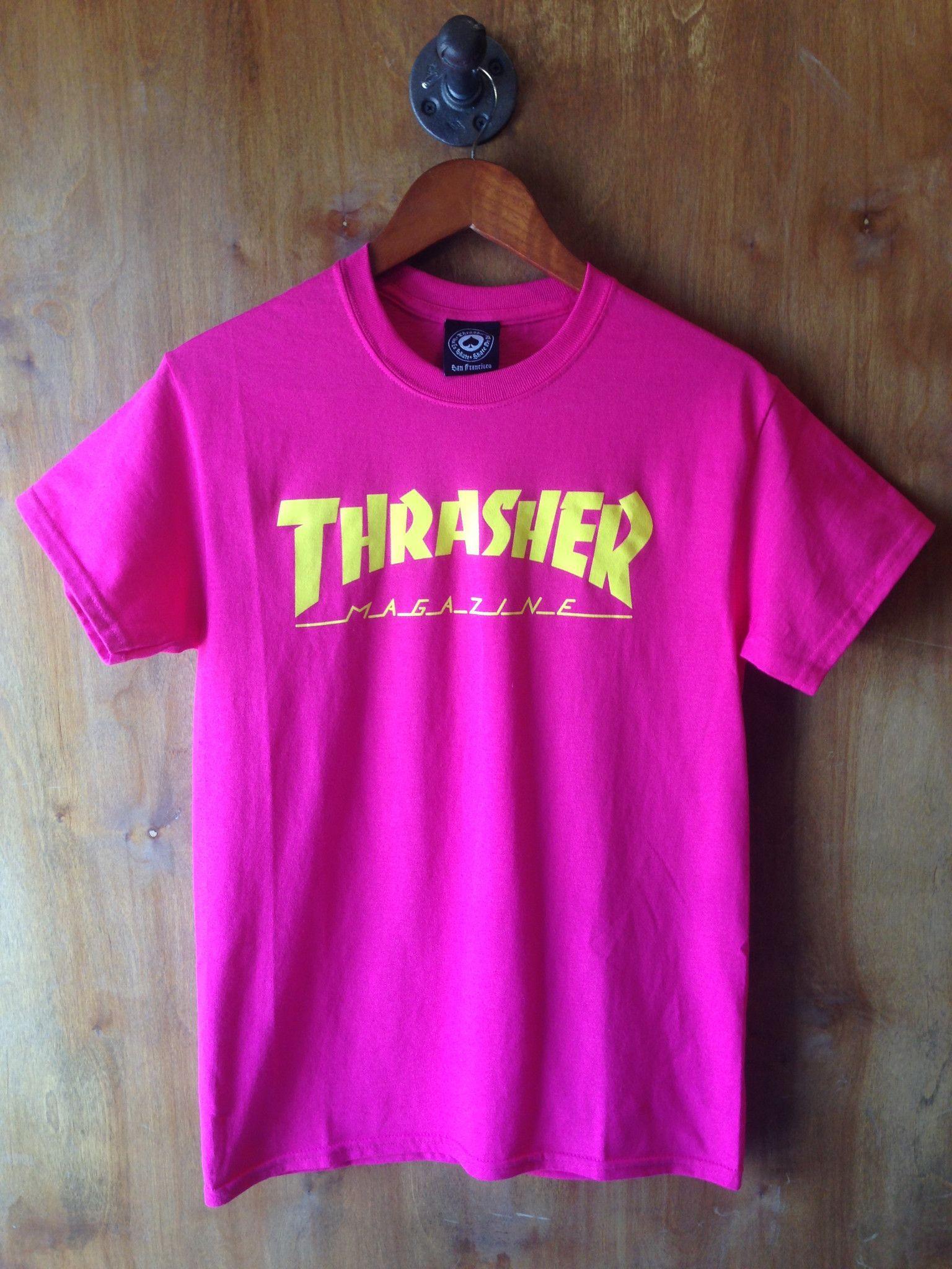 12e1627398b Thrasher Magazine Logo T-shirt