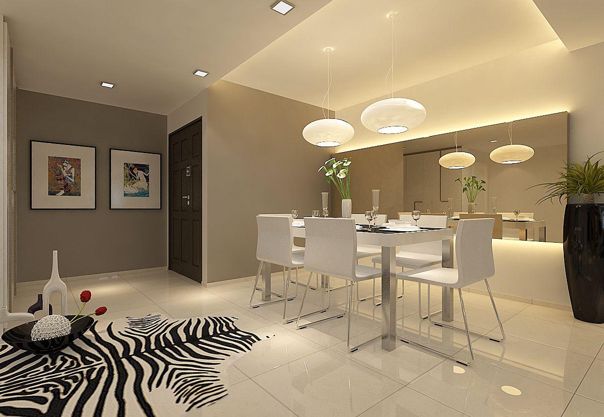 Woodlands Ring Rd HDB Interior Design in