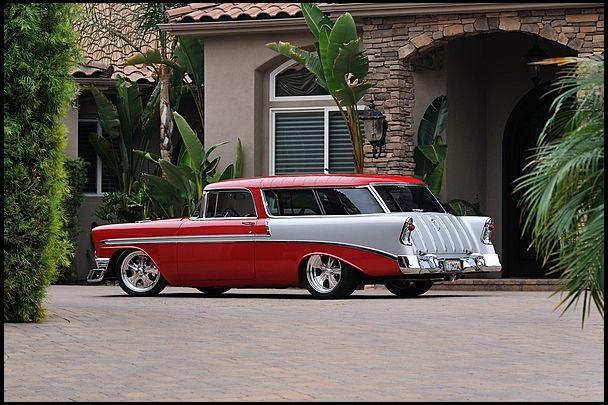 1956 Nomad Resto Mod Chevy Nomad Chevy Chevrolet