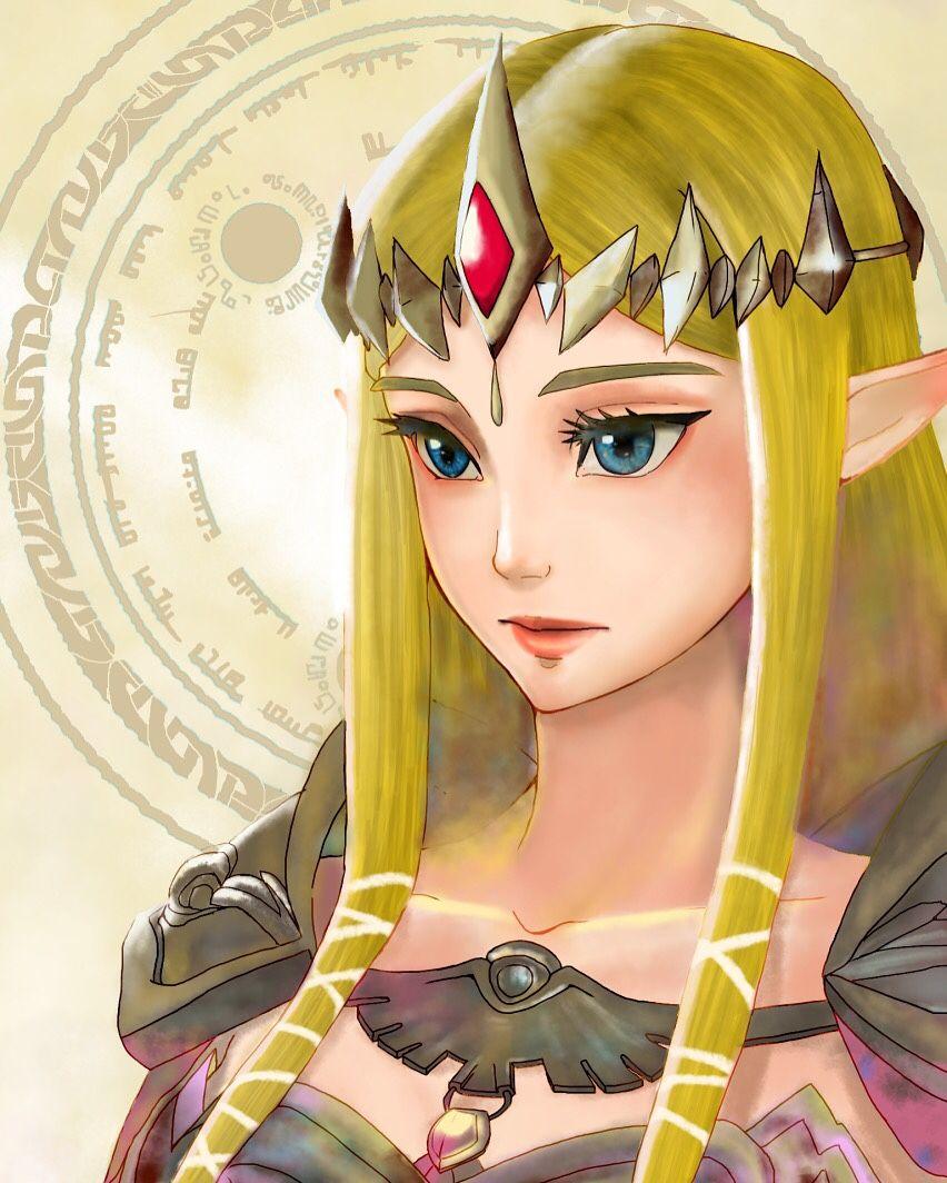 「Zelda」/「aoi k.」のイラスト [pixiv]
