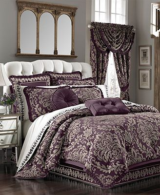 Pin By Fedah Ahmad On Home Queen Bed Comforters Bed Comforters Queen Bedding Sets