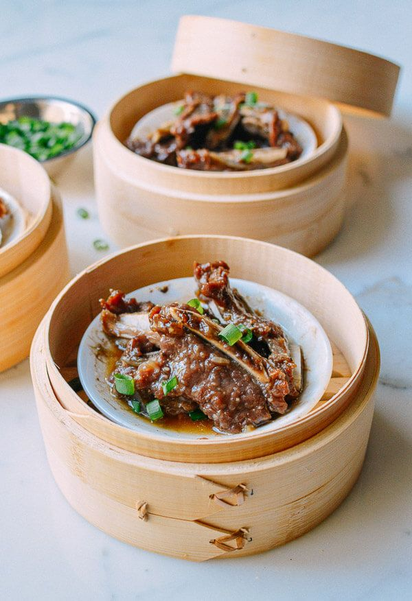 Dim Sum Steamed Beef Short Ribs with Black Pepper | The Woks of Life