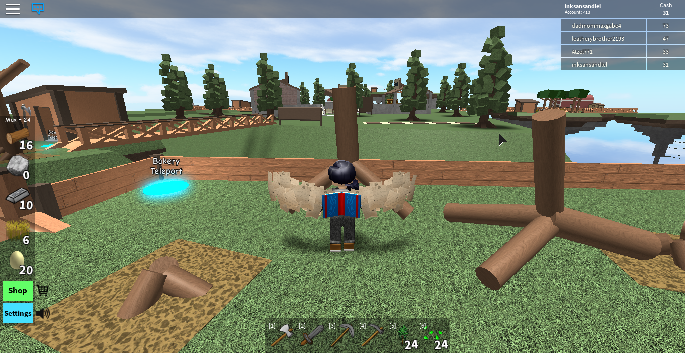 When You Plant Too Many Trees U Get Chaos Never Play Skyblock 2 In