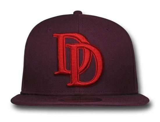 1d970eb571d Daredevil Symbol 59Fifty Fitted Baseball Cap by MARVEL x NEW ERA ...