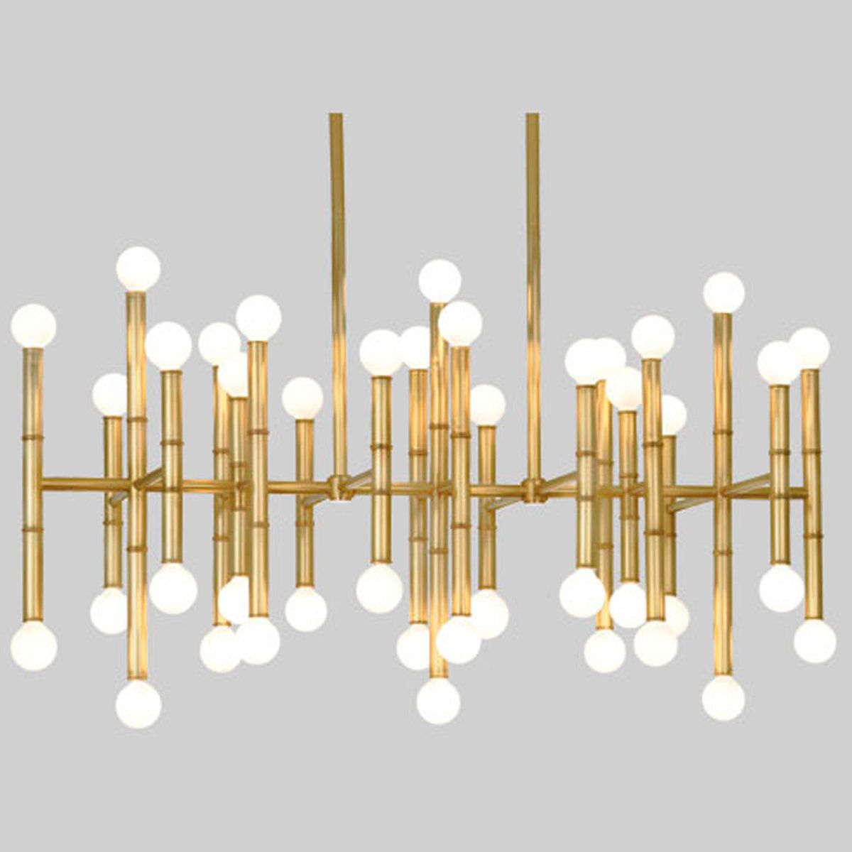 Chic bamboo island chandelier antique brass chandeliers and lights chic bamboo island chandelier arubaitofo Images