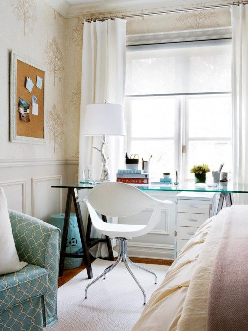 Interior Design Inspiring Vibrant Home Office With Stunning Layout Settings Home Office Furniture R Guest Bedroom Office Guest Room Office Home Office Design