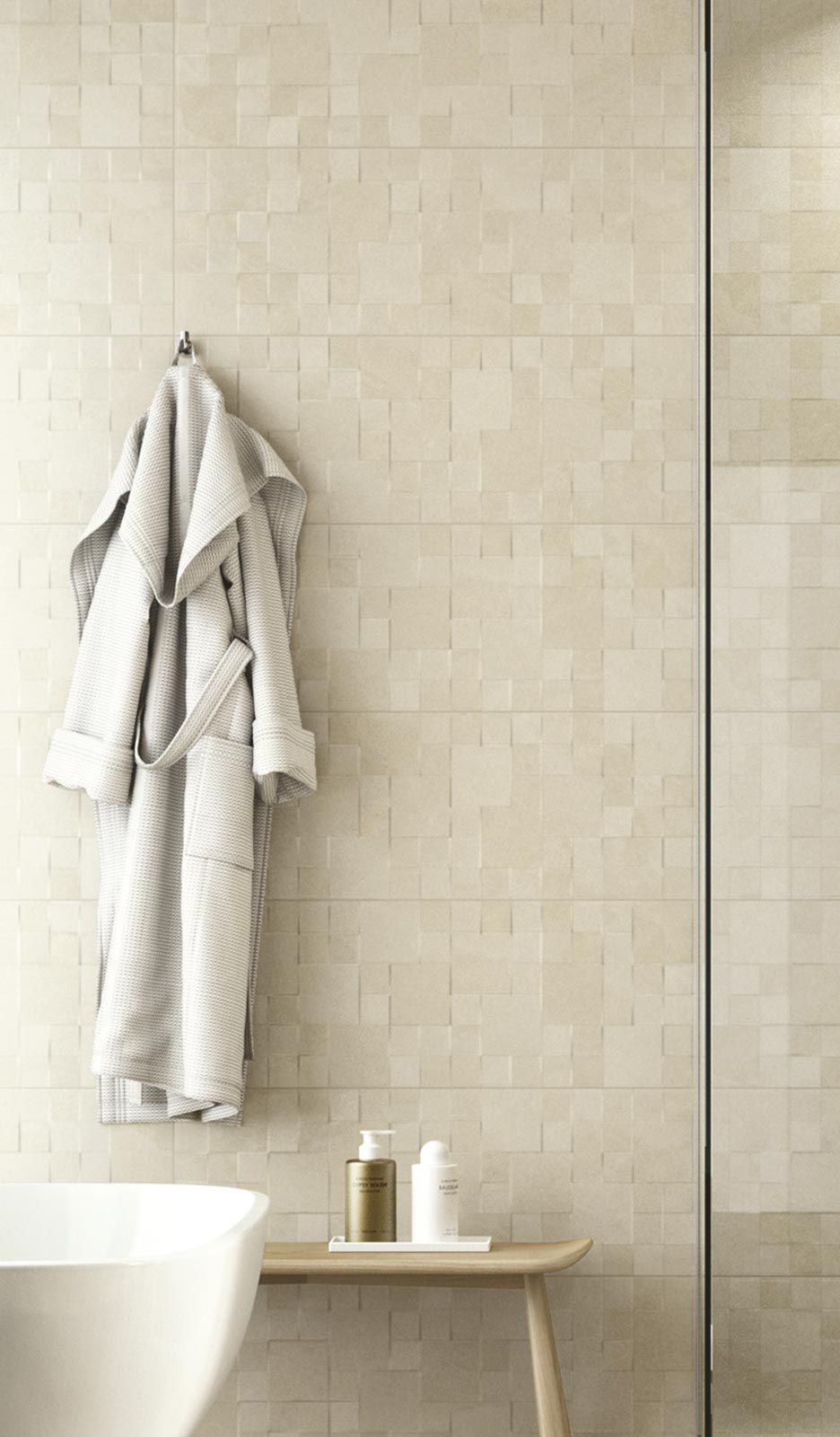 Wall coverings in natural form by Ragno | Bathroom Accessories ...