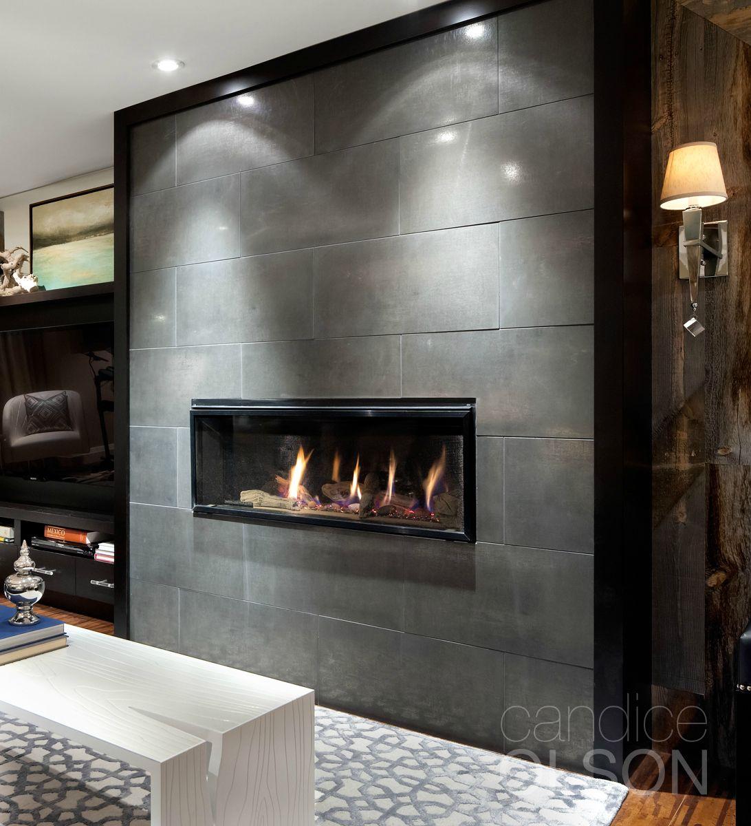 Candice Olson Basement Design: Fireplace Designed By Candice Olson Design Inc