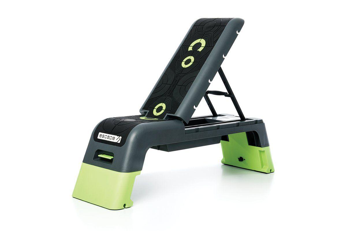 Escape fitness usa aerobic and strength deck blackgreen