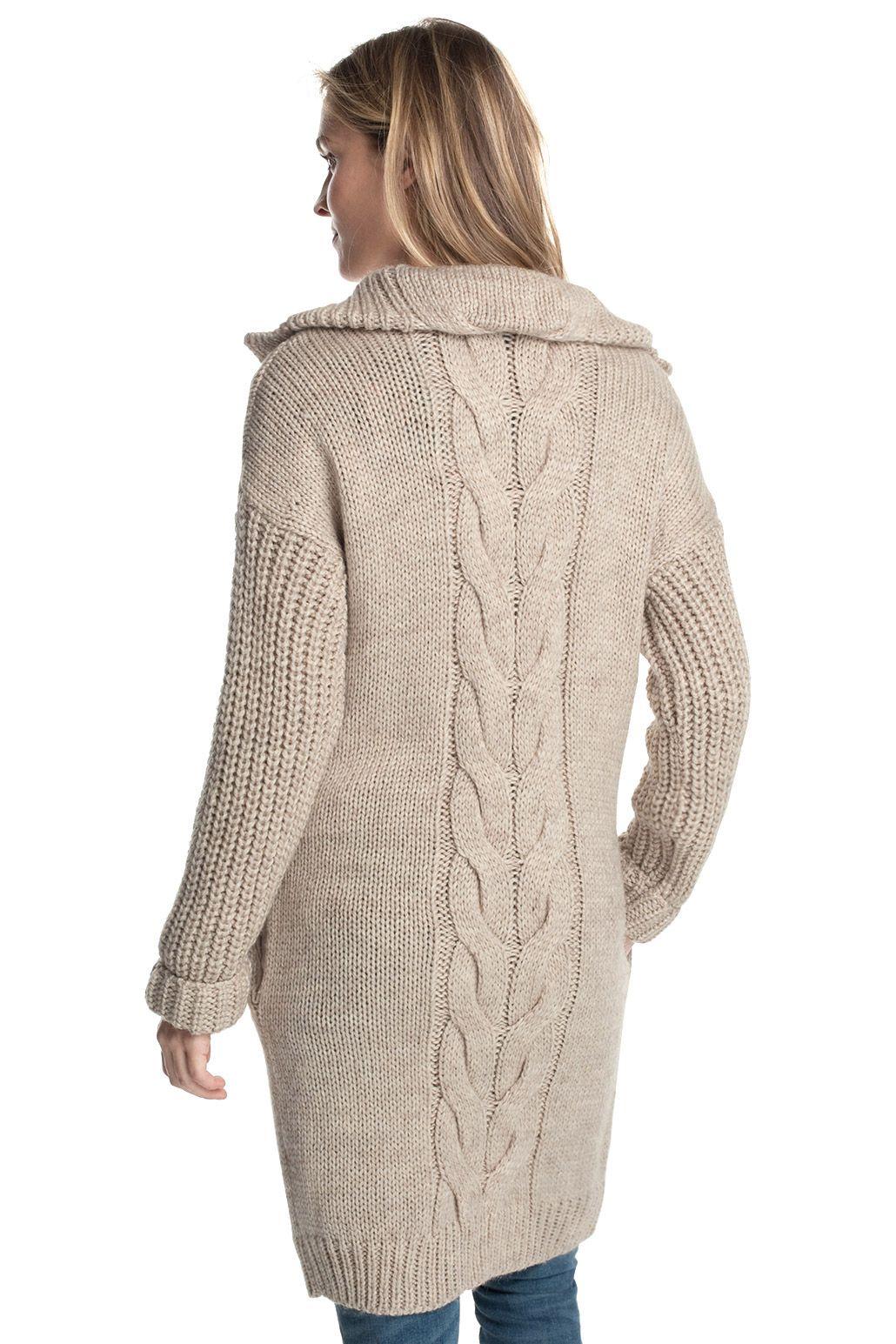 Esprit lang vest met houtjetouwtjeknopen kopen in de online shop