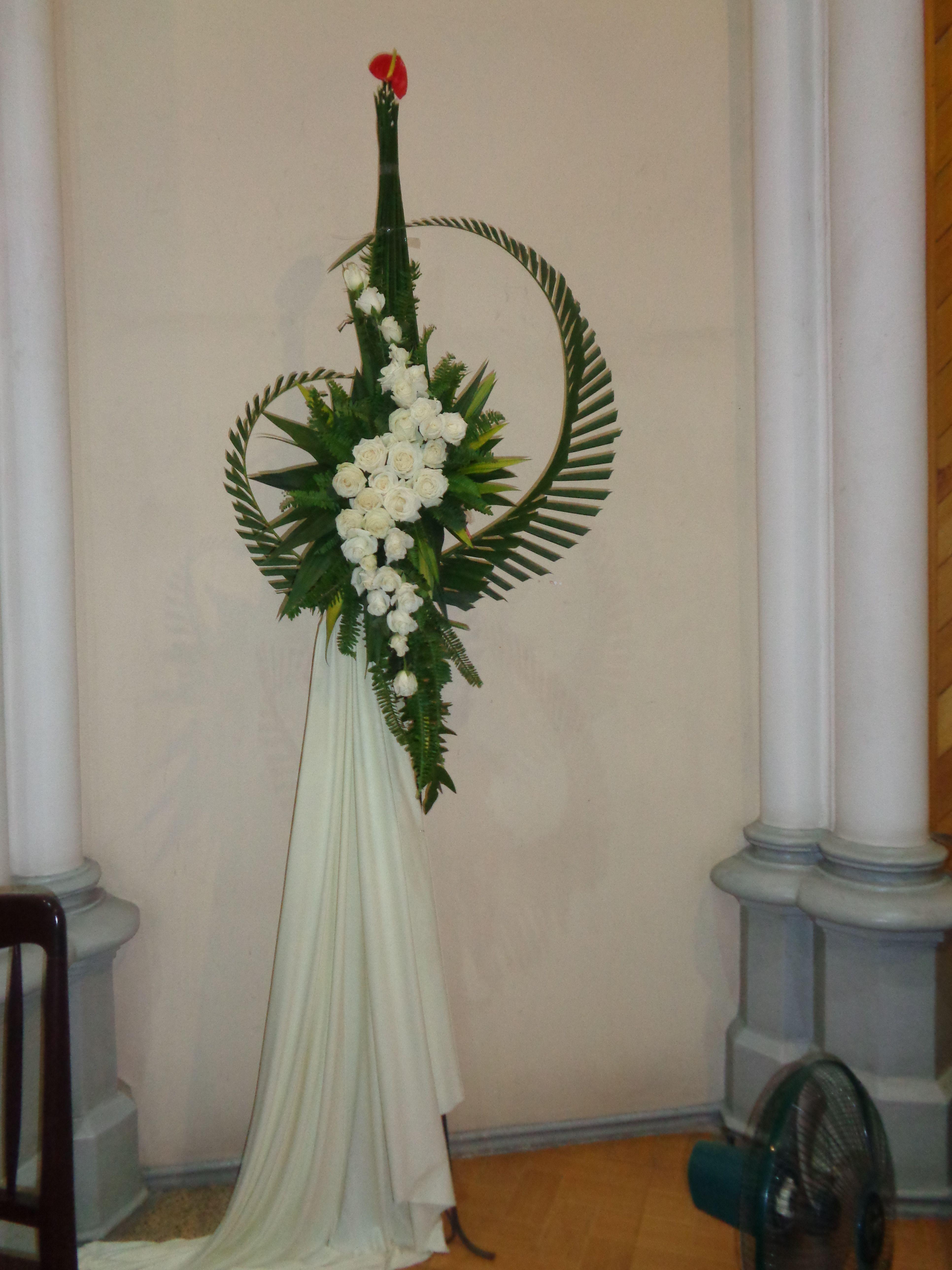 Pin Oleh Diah Niken Di Dekorasi Gereja Toko Bunga
