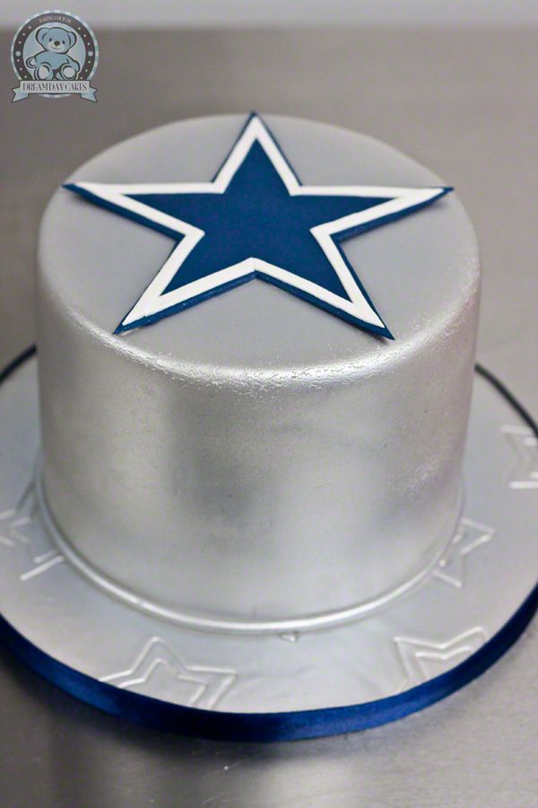 Dallas Cowboys Cake Keein It Simple Luv My Stars With