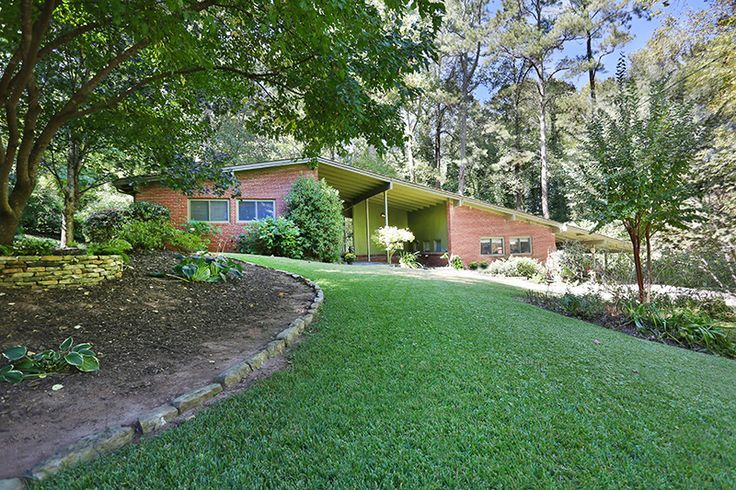 atlanta mid century modern homes decatur mid century modern