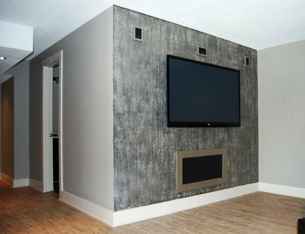 metallic wandfarbe f r ein luxuri ses ambiente in ihrer wohnung ideen schlafzimmer. Black Bedroom Furniture Sets. Home Design Ideas