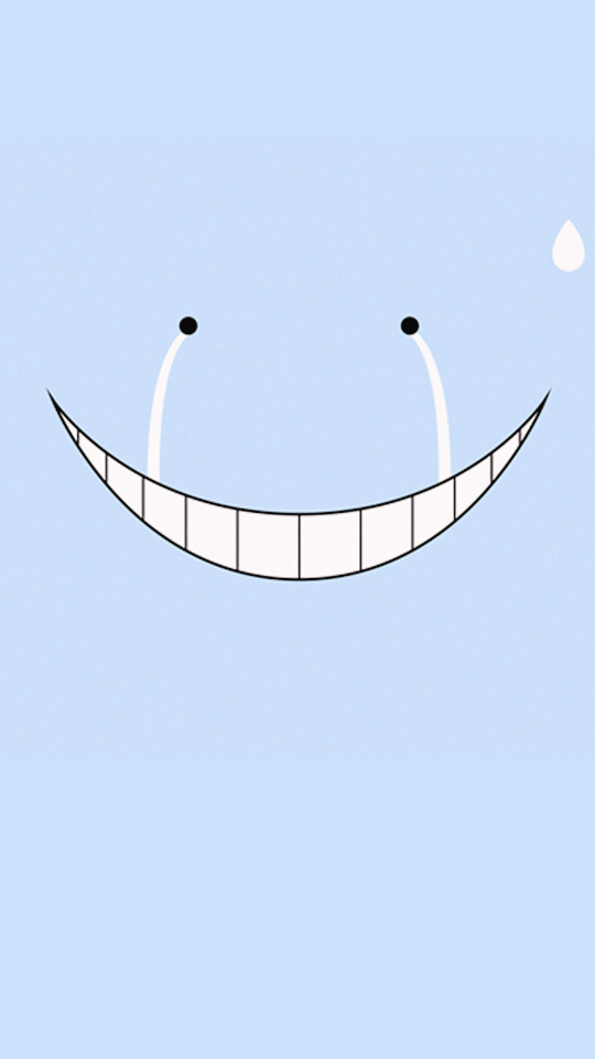 S P I R I T I O N Assassination Classroom Wallpapers Koro Sensei Face Assassination Classroom Assassin