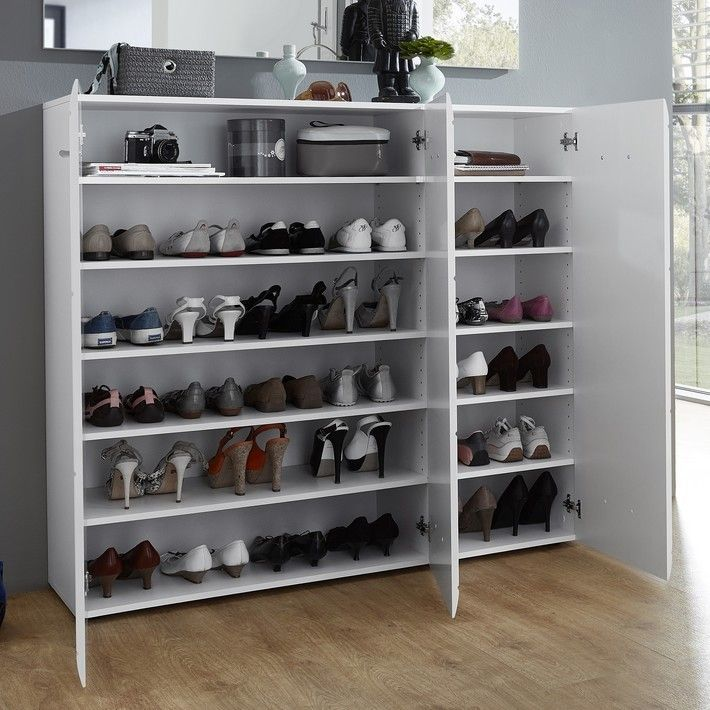 Grand Meuble A Chaussures Blanc Design 36 Paires Alama Grand Meuble A Chaussure Meuble A Chaussure Blanc Meuble Chaussure Ikea