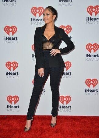 8878f2d0dcb5 Jennifer Lopez wearing Black Blazer