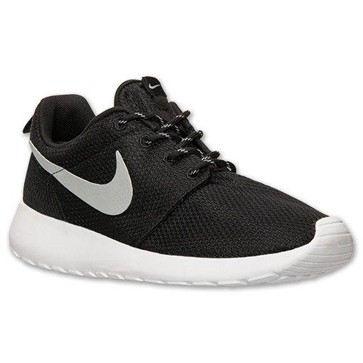 108ae1126bab9 ... coupon for womens nike roshe run casual shoes finish line blackmetallic  platinumwhite 8730c a80c4