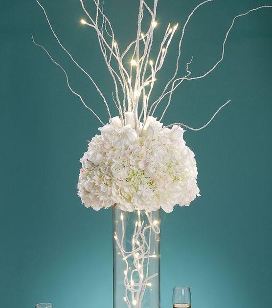 David Tutera Wedding Centerpiece Ideas: David Tutera Bridal Battery Operated LED Branch