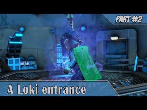 Lego Marvel Avengers #2 Walkthrough A Loki Entrance [1080p 60FPS HD]    YouTube