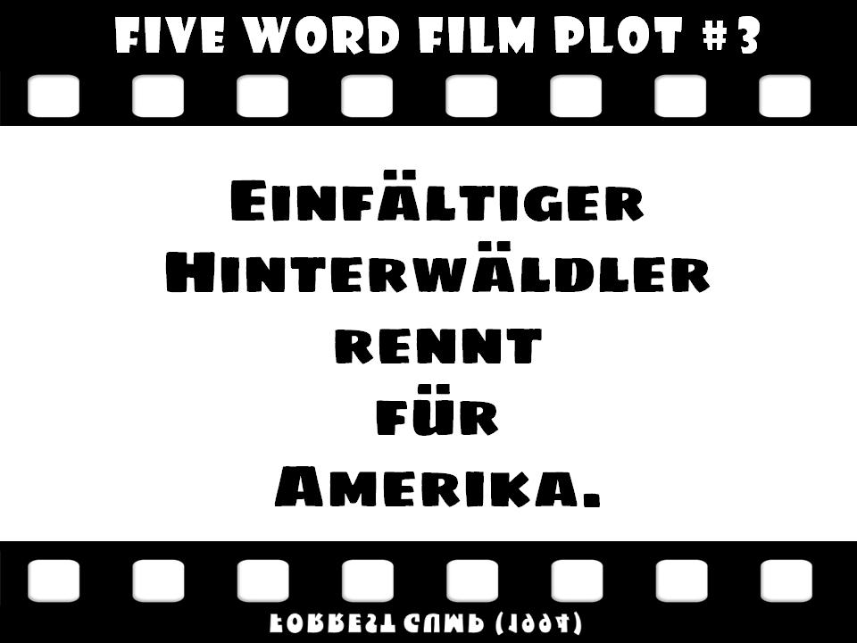 Five word film plot 03