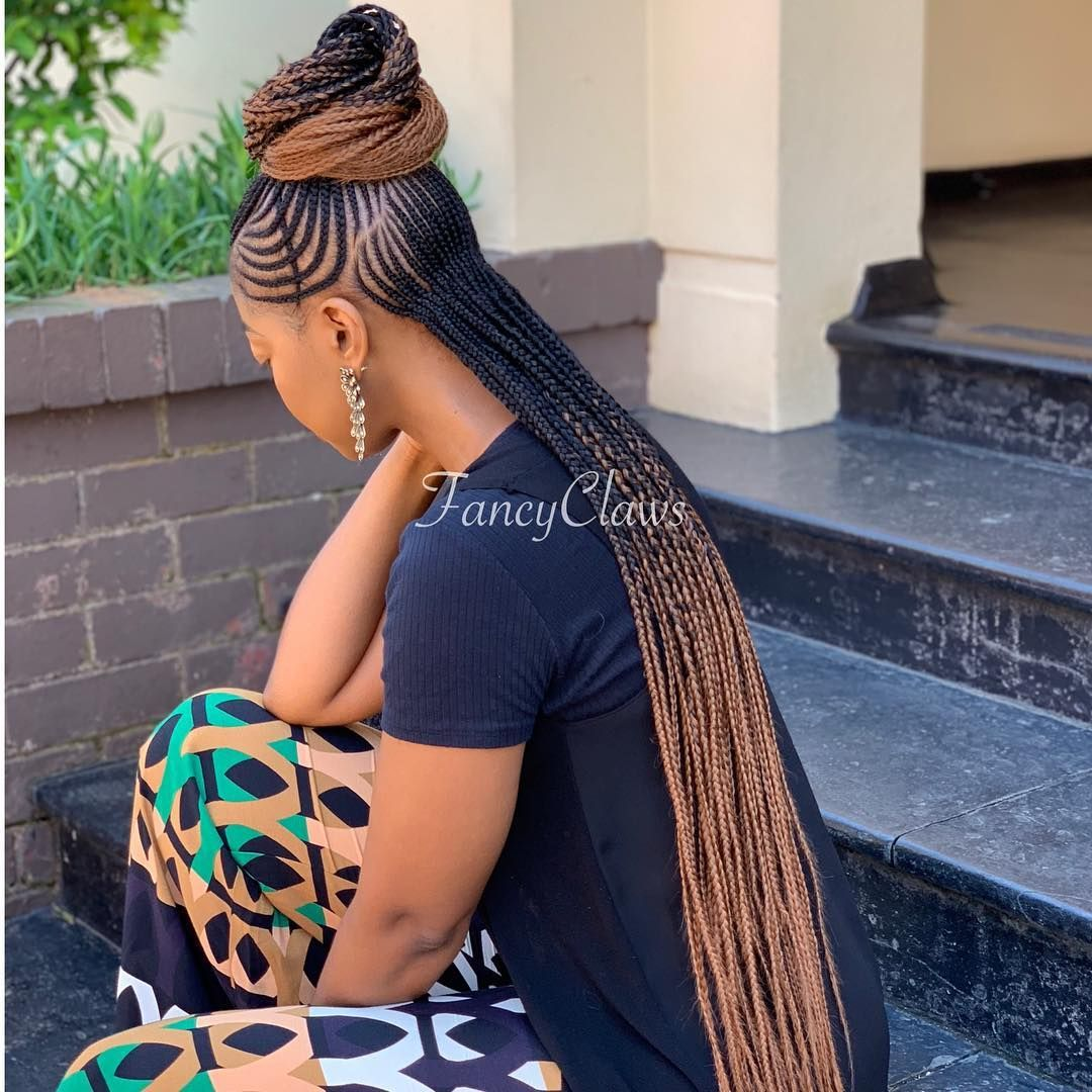 Fancyclaws On Instagram Hairstyle Done At Fancyclaws Please Contact Us For Bookings Pr Cornrow Hairstyles African Braids Styles African Hair Braiding Styles