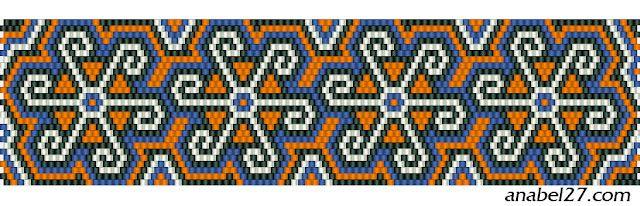 pulsera del mosaico