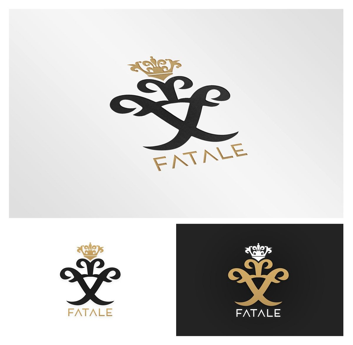 Fabuleux Elegant, Playful Royal Logo Design by Djuksi Design | LOGO BLASON  MY18