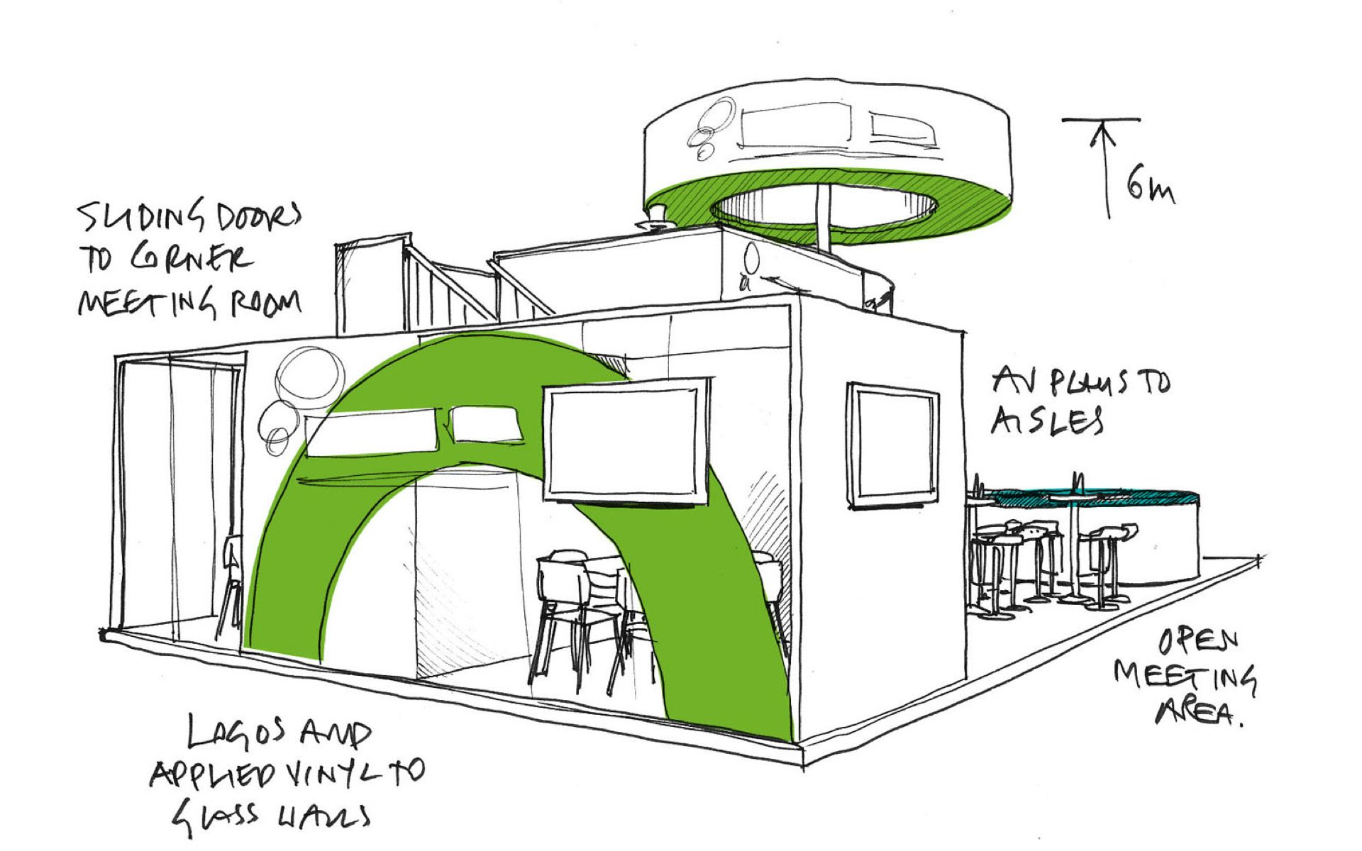 Exhibition Stand Design Drawings : Exhibition sketch google search
