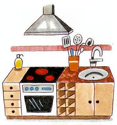 Cocina Dependencias De La Casa Partes De La Casa Bits De