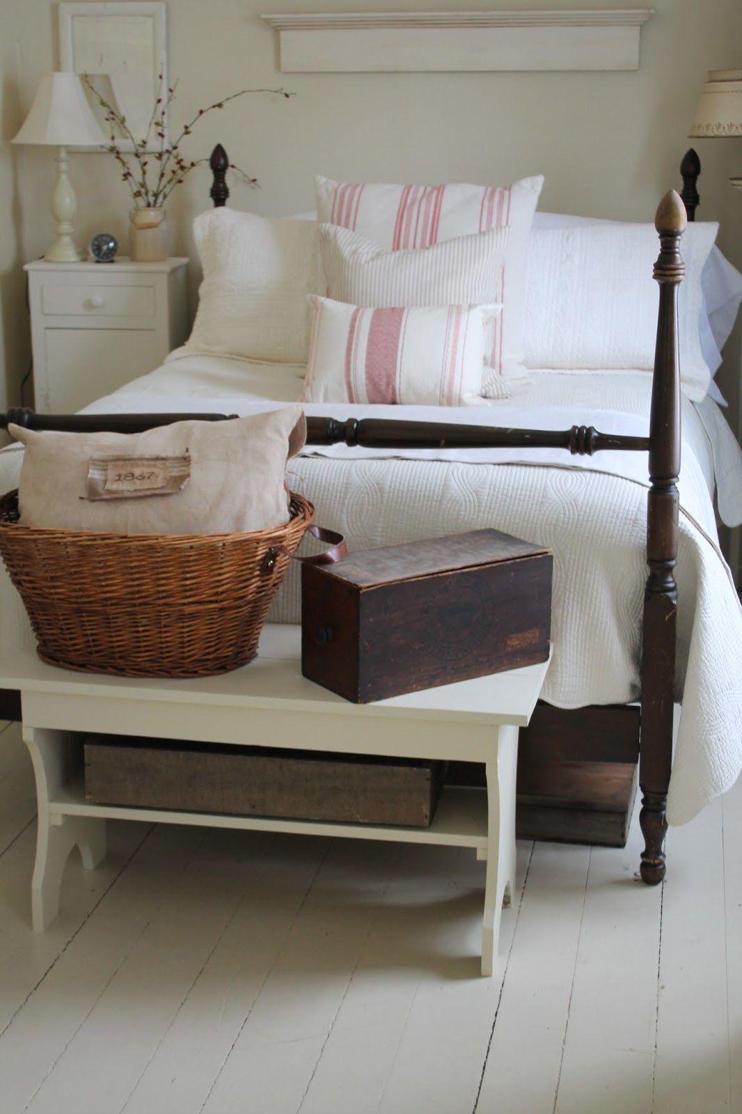 Sweet Country Life ~ Simple Pleasures ~ Farmhouse Bedroom
