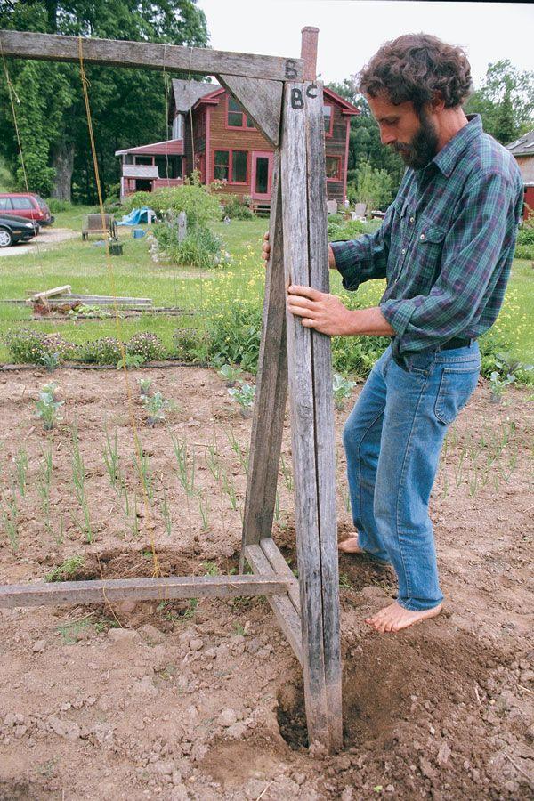 Build an A-Frame Tomato Trellis - Vegetable Gardener | trellis ...