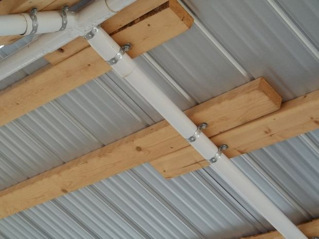 Replace Canvas Roof With Corrugated Steel With Images Roof Corrugated Steel Roofing Portable Sheds